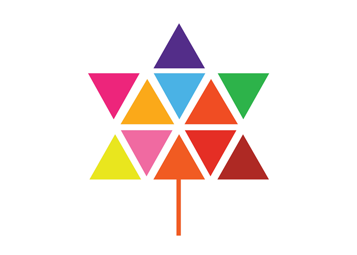 Logo 100 Jahre Kanada, entworfen von Stuart Ash Quelle: Wikipedia