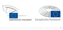 Europäisches Parlament – Logo – vorher und nachher