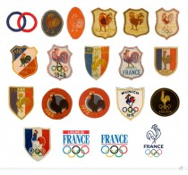France Olympique Logo Historie