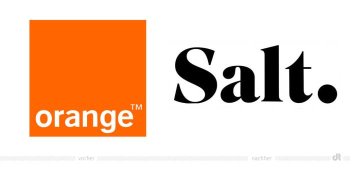 Orange und Salt – Logos