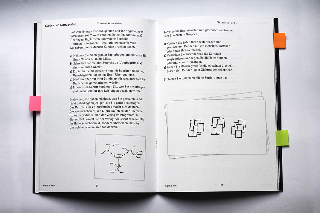 Designer Firmen arbeitsheft positionierung designer design tagebuch