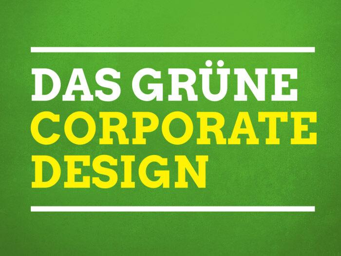 BÜNDNIS90/DIE GRÜNEN Corporate Design