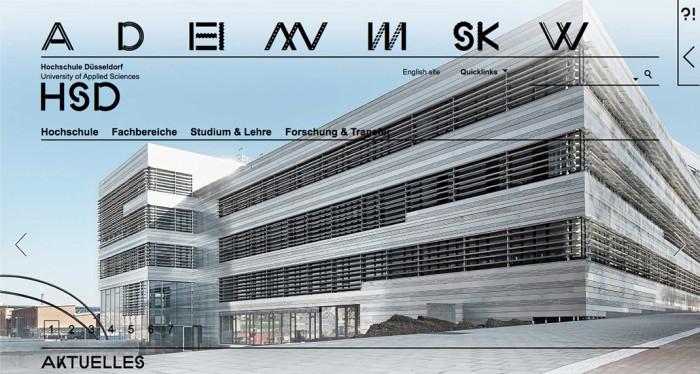 Hochschule Düsseldorf – Website