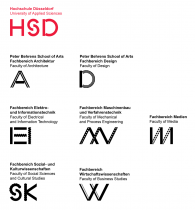 HSD– Fachbereichsmarken