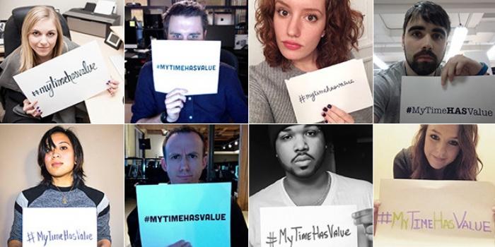 Aktion #MyTimeHasValue