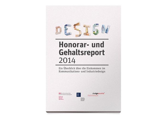 Honorar- und Gehaltsreport 2014 veröffentlicht