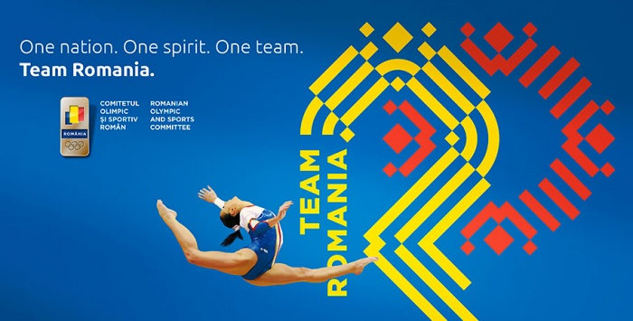 Rumänisches Olympisches Komitee mit neuem Erscheinungsbild