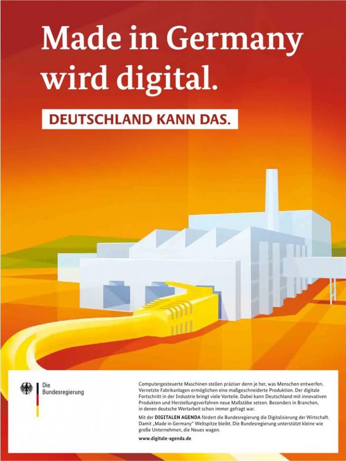 Deutschland kann das. Made in Germany wird digital.