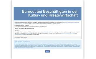 burnout-umfrage