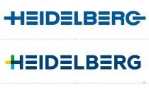 Heidelberg Druckmaschinen Logo – vorher und nachher