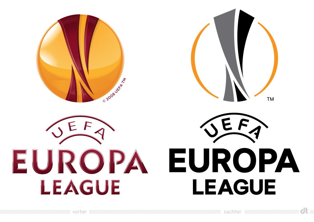 Uefa Europa League Logo Vorher Und Nachher Design Tagebuch