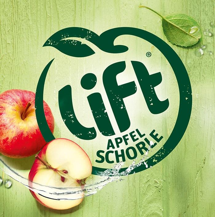 Aufgefrischt: LIFT Apfelschorle