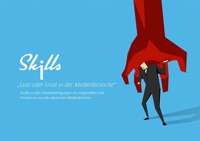 Studie: Arbeitsbedingungen in der deutschen Medienbranche