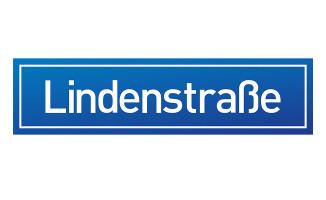 Lindenstraße Schild/Logo (2015)