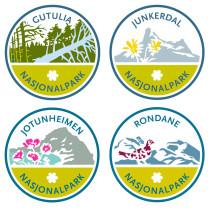Die alten Nationalpark-Logos