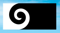 Neuseeland Flagge – Koru (Andrew Fyfe)