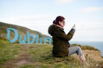 Visit Dublin Logo Sign