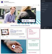 FH Münster Website (2015)