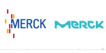 Merck Logo – vorher und nachher