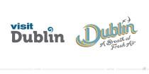 Visit Dublin Logo – vorher und nachher