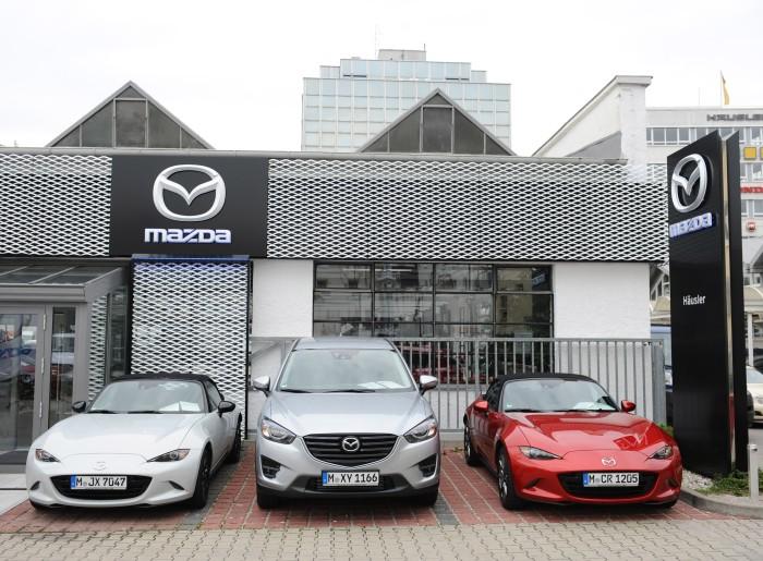 Außenfront im Mesh-Design, Quelle: Mazda
