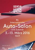 Plakat Auto Salon 2016