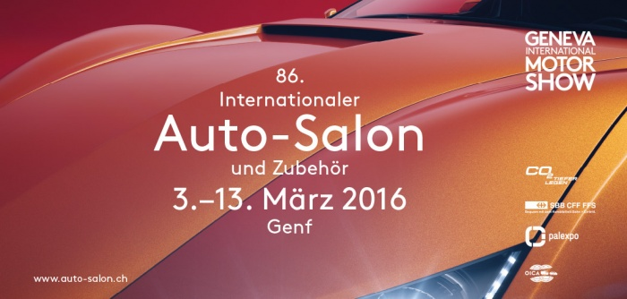 Plakat Auto Salon 2016