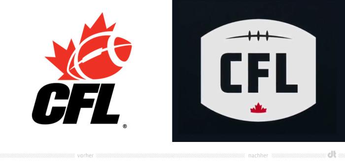 CFL Logo – vorher und nachher