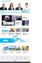 Coalition Avenir Quebec Website