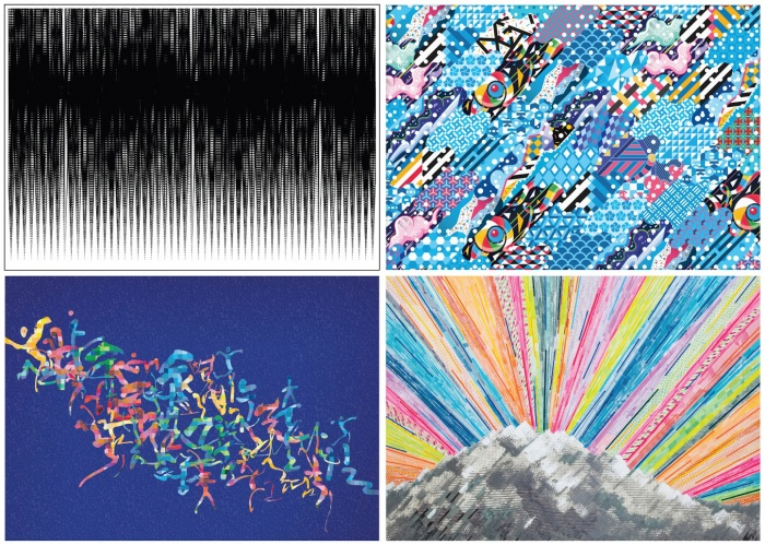 Pyeongchang 2018 graphic motifs
