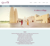 Qatar Tourism Brand Website