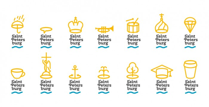 Saint-Petersburg Logos