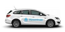 Thyssenkrupp Fahrzeug Quelle: Thyssenkrupp