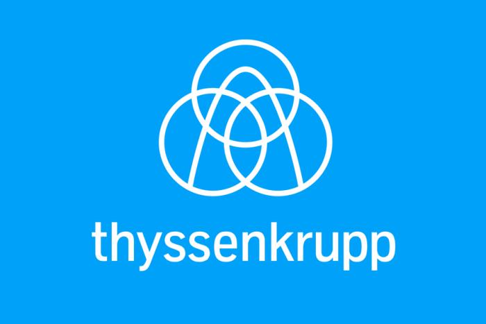 Thyssenkrupp Logo (ab 2015) Quelle: thyssenkrupp