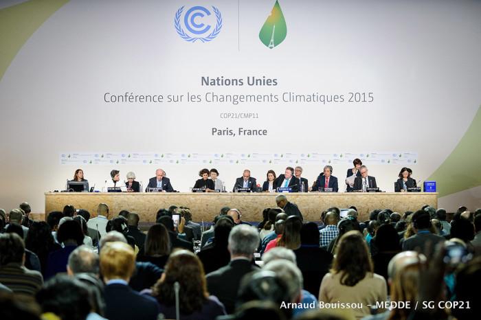 UN-Klimakonferenz 2015 Quelle: cop21.gouv.fr