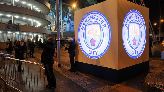 Manchester City Crest (ab 2016)