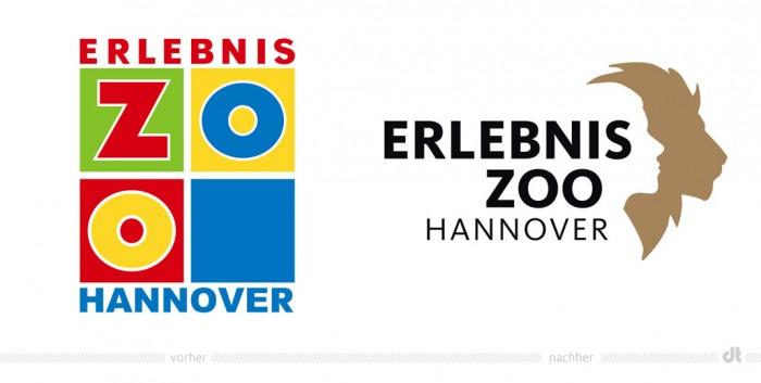 Zoo Hannover Logo – vorher und nachher
