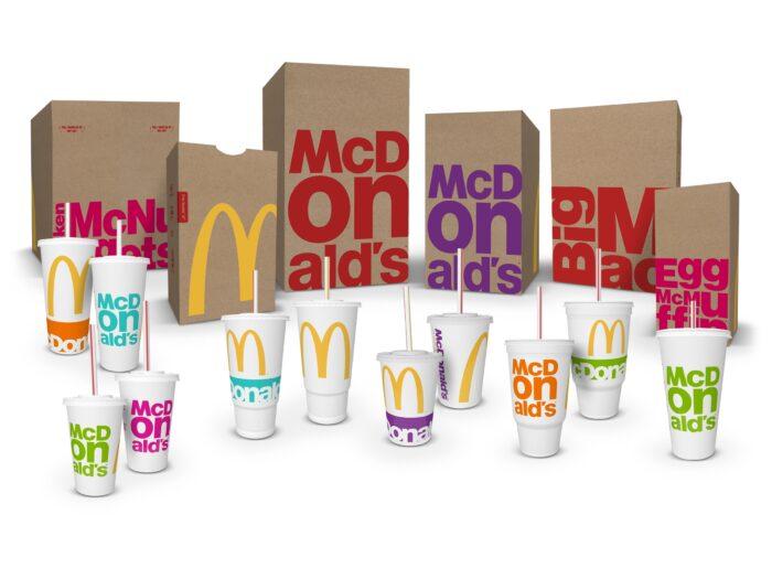 McDonald\'s führt weltweit neues Verpackungsdesign ein – Design Tagebuch