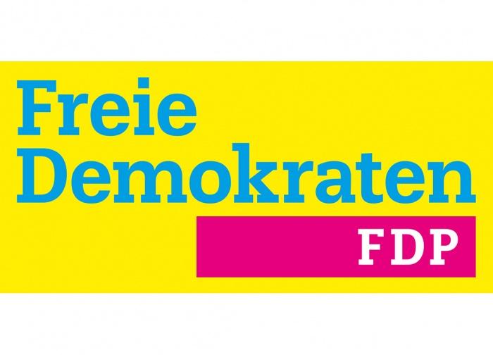 Das neue Parteilogo der FDP