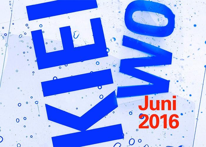 Plakat der Kieler Woche 2016