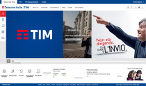 Telecom Italia Group Website