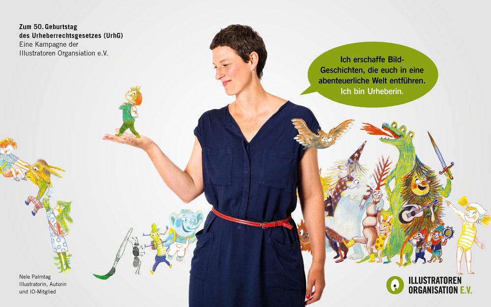 Urheberrecht Kampagne, Quelle: Illustratoren Organisation e.V.