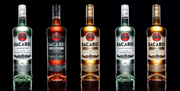 Bacardi Bottle Design