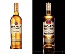 Bacardi Gold Rum – vorher und nachher