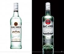 Bacardi Superior Rum – vorher und nachher