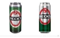 Beck's Pils Dose 0,3l – vorher und nachher