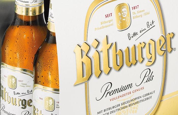 Neues Design für Bitburger