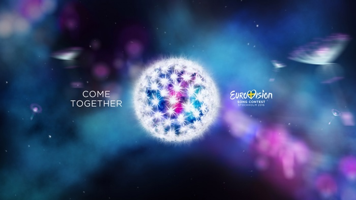 Keyvisual des Eurovision Song Contest 2016 in Schweden
