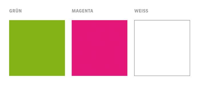 GRÜNE Schweiz Corporate Farben