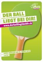 Plakat – GRÜNE Schweiz